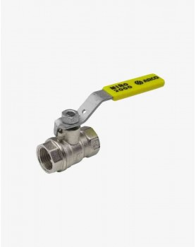 "Gas valve 1/2"" F/F lever handle SENA PN30"