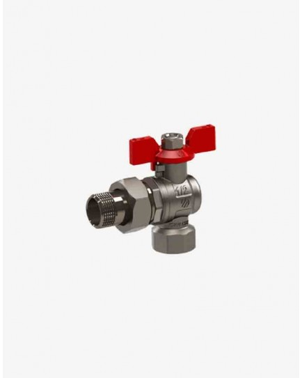 "Valve angled with detachable connector F/M 1/2 ""SENA PN30"